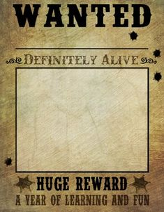 Free Wanted Poster Template Ideas Templates Cowboy Party Party