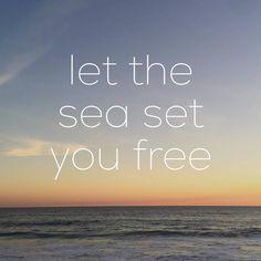 Let The Sea Set You Free | Pura Vida Bracelets
