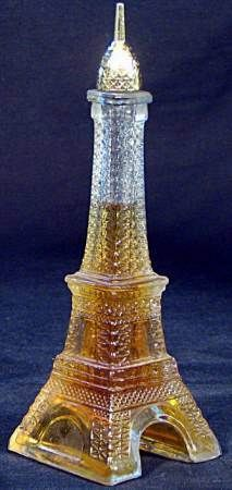 Vintage AVON Perfume Bottle ~:~ 'Eiffel Tower' ~ With 'Unforgettable' Cologne, The Perfect Word To Describe Paris !!  ~:<3