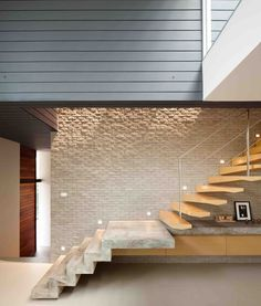 Gallery Of Demoh Home Lynk Architect 20 Stairs Home Stairs Design, Interior Stairs, Interior Architecture, Interior And Exterior, House Design, Stair Design, Stair Walls, Beautiful Stairs, Modern Stairs
