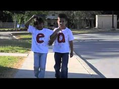 ▶ Two Vowels Go Walking - YouTube   Learn Through Lyrics, lots of phonics rules set to catchy tunes.