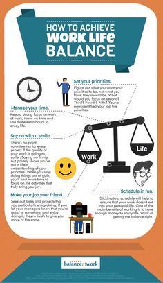 How to Get a Great Work Life Balance [INFOGRAPHIC] on http://theundercoverrecruiter.com