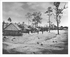 Civil War encampment at Rock City, near Chattanooga.