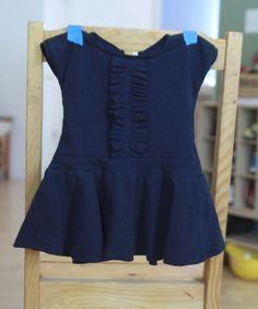 it's always autumn - itsalwaysautumn - sew: ruffle front circle skirtdress