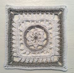 Ilmatar  Koukku 1,25 mm Virkkauslanka 10, 26.8.2017 Kalevala cal Foundation Piecing, Thing 1, Granny Squares, Bedspread, Needlework, Mandala, Crochet, Colors, Cards