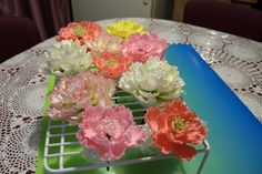 This is a custom made to order item. Available for local delivery, pick up, or shipping within US. No international order accepted.    Large sugar peony