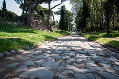 Via Appia Antica  - Rome  312 B.C.: The consul Appio Claudio gave his name to the route of a new road to reach Campania and then Brindisi. This new road was paved with large smooth stones that fitted together perfectly, laid on a bed of gravel that ensured stability and drainage. This meant that it was viable in any weather and with any means of transport. With this revolutionary technique the Republic and the Empire was to build the vast network of roads throughout the Roman world.