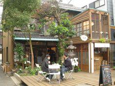 Coffee serenity Coffee Shop Design, Cafe Design, Store Design, Cafe Exterior, Interior Exterior, Cafe Restaurant, Restaurant Design, Shop Facade, Cafe Concept