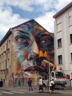 David Walker, Nancy // photo juin 2015 © Jonathan Rigout David Walker, Graffiti Art, Love Graffiti, Street Mural, Street Art Graffiti, School Murals, Sidewalk Chalk Art, Rumi Quotes, Mural Ideas