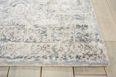 kathy ireland by Nourison Damask Runner 23W x 8D | National Business Furniture