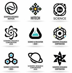 Science Logos in HD - PNG, SVG and EPS for vector files available. Find the perfect Science logo fast in LogoDix! Research Logo, Zoo Logo, Gfx Design, Icon Design, Science Icons, Data Science, Game Logo, Typography Logo, Bucket List Travel
