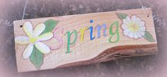 Spring sign- easy to make!