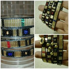 4 times wrap Bracelet Golden treasure by VAT