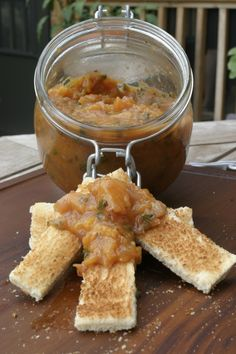 Peach Chutney from Food Done Light