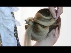 Chignon elegante Mr Serrone school - YouTube