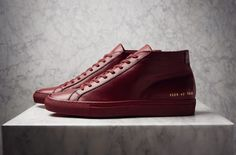 Here's a look at the Fall/Winter 2015 collection from Common Projects, which is now available at retailers like End Clothing.