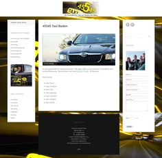 Google und mobil optimierte Taxi Website: http://www.taxi45545.at/