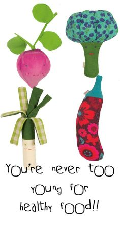 #Groente #knuffels!! | Knuffels à la carte via kinderkamerstylist