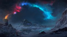 Nebula wallpaper for desktop and phones Types Of Fiction, Tomb Raider Game, Google Image Search, R Wallpaper, Image Painting, Header Image, Pictures Of You, Online Art Gallery, Northern Lights