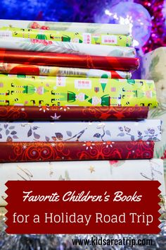 If you are traveling and looking for books to put your children in the holiday spirit, why not try one of these titles while you are on the road?