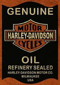 38 Ideas motorcycle racing art for 2019 Harley Davidson Signs, Harley Davidson Wallpaper, Motor Harley Davidson Cycles, Harley Davidson Motorcycles, Vintage Labels, Vintage Posters, Motorcycle Logo, Harley Davison, Vintage Metal Signs