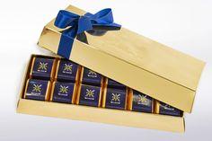 Sisekaitseakadeemia šokolaadid kuldses karbis www.stillabunt.ee