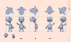 My works: [我的志願]角色設定for建模用