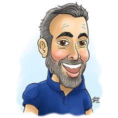 #caricature #custom #man #caricatura #personalizada