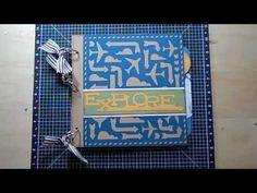 Close to My Heart Artbooking Cricut Fast Mini Album