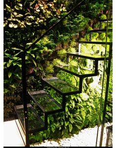 Glass stairs idea - Home and Garden Design Idea's