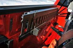 The 2015 Ford F150 offers tremendous capabilities for handling cargo. Check out the integrated cargo ramps for loading ATVs, bikes, mowers and more. #2015F150