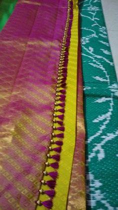 Saree kuchu or tassels