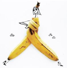 Whimsical Food Illustrations : Giulia Bernardelli