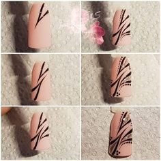 Astonishing Nail Art Tutorials Ideas Just For - The most beautiful nail designs Toe Nail Art, Nail Art Diy, Easy Nail Art, Diy Nails, Nail Nail, Great Nails, Simple Nails, Cute Nails, Tattoo Pink