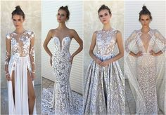 BERTA Fall &Winter 2017 Wedding Dresses - Deer Pearl Flowers