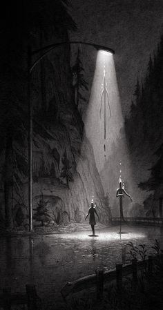 Storytelling Illustrations by Matt Rockefeller