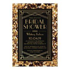 Featured at Retro Invites - Home- Today!  #artdeco #bridal #invite Great Gatsby Party, Great Gatsby Invitation, Art Deco Wedding Invitations, Graduation Party Invitations, Custom Invitations, Gatsby Theme, 1920s Party, Invitation Ideas, Invitation Templates