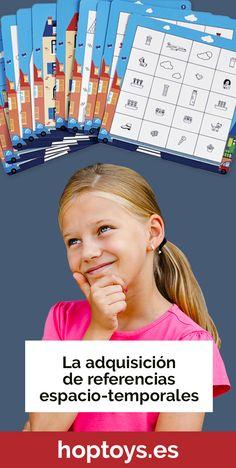La estructuración del espacio y el tiempo se construye gradualmente en los niños. Ofrecemos juegos educativos para memorizar y comprender la noción de ubicación espacio-temporal. Derecha, izquierda, arriba, abajo, dónde y cuándo... ¡Estas palabras ya no tendrán ningún secreto para los niños! ¡Todo esto en un enfoque lúdico y concreto! Time Timer, Movies, Movie Posters, Dyscalculia, Educational Games, Classroom, Learning, Space, Films