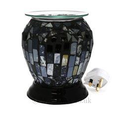 Image result for wax melt burner electric black