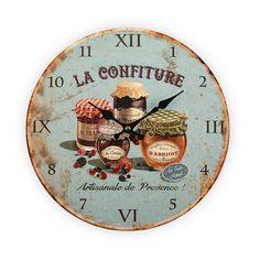 Reloj de pared vintage #reloj #vintage #casa #versa | Vintage clock #vintage #clock #home #versa