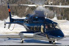 """Photo by """"Rotate"""" via airliners.net. Bell 430 - Switzerland."""