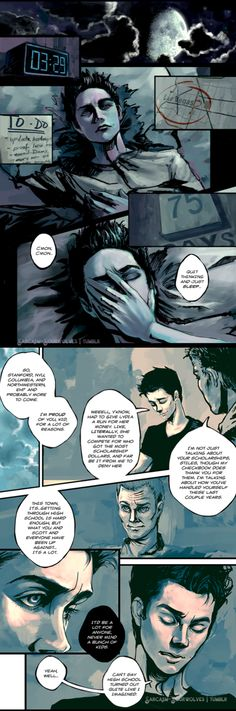 """Room to Breathe, Part 1: """"To Be Set Free""""  Sterek Summer Spectacle - Week 4: Fix Canon Team: Sarcasm & Sourwolves Artist: @sixpades  Your favorite team? Vote Here!  A follow-up to Sarcasm & Sourwolves' """"Room to Breathe"""" fanvid. Stiles is more than ready to let go of Beacon Hills, but there's one thing he's holding on to.   [(Part 2 of 5)]"""