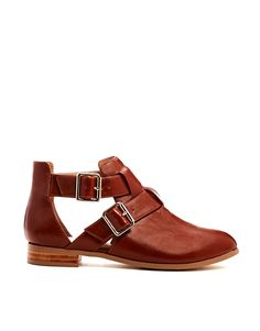 ASOS ADRIFT Cut Out Ankle Boots