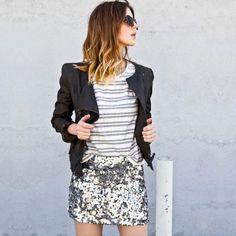 Brilho de Dia #shiny #sparkles #skirt