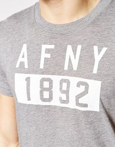 Enlarge Abercrombie & Fitch T-Shirt with 1892 Logo Print