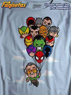 Comprar Camiseta Balloon Stan - Camisetas Demonigote. Fanisetas.Com 5539e17274fa8