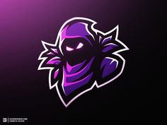Fortnite Raven Mascot Logo by Derrick Stratton