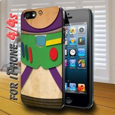 toys story characters buzz lightyear - design case for iphone 4,4s | shayutiaccessories - Accessories on ArtFire