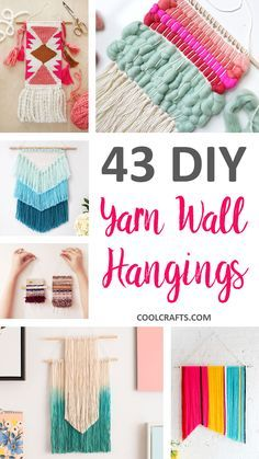 Easy diy cactus crafts to make sell and share pinterest cactus 43 inspiration diy woven wall hangings for your home solutioingenieria Images