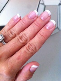 Use shellac manicure for your wedding and your polish will last all through the honeymoon with no chipping.